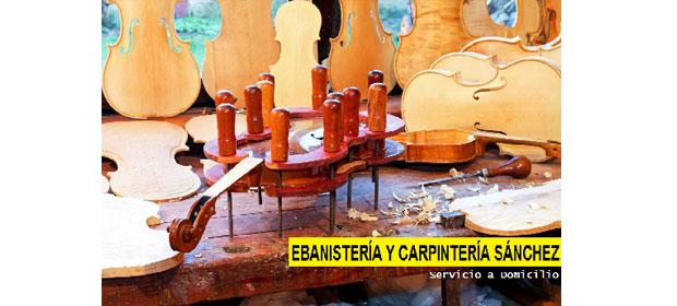 Ebanistería y Carpintería Sánchez