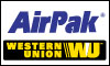 AIR PAK WESTERN UNION