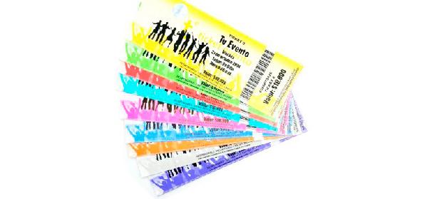 Manillas Y Tickets Para Eventos
