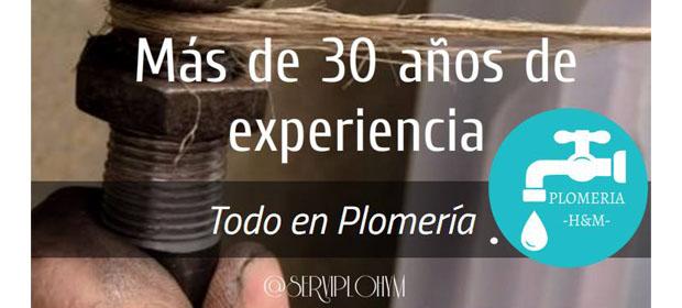Servicios De Plomeria H & M