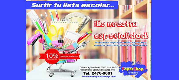 Librería Papershop