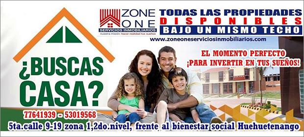Zone One Servicios Inmobiliarios