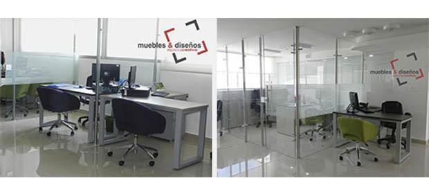 Muebles dise os divisiones para oficinas en for Telefono oficinas