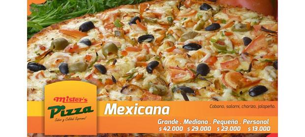 Mister'S Pizza - Imagen 1 - Visitanos!