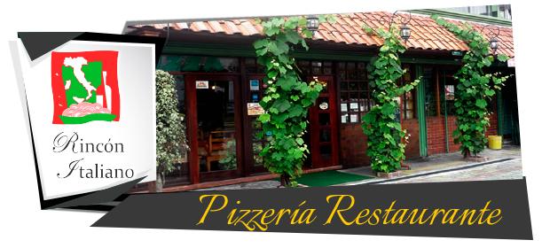 Restaurante Pizzería - Rincón Italiano