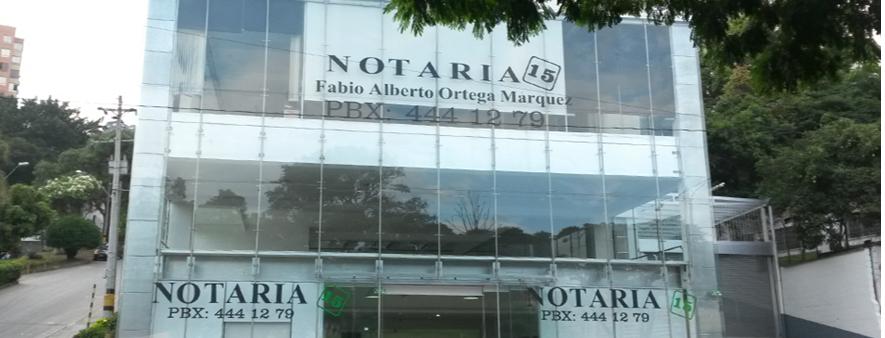Notaría 15 De Medellín