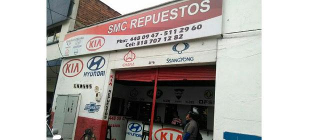 Almacén SMC Repuestos