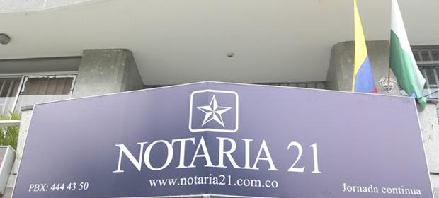 Notaria 21 De Medellin