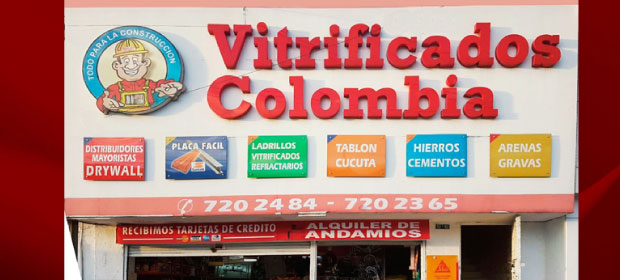 Vitrificados De Colombia Y Tequendama S.A.S. - Imagen 1 - Visitanos!