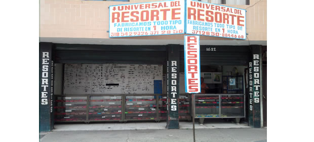 Universal Del Resorte