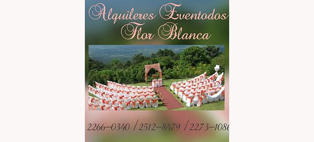 Alquileres Eventodos Flor Blanca - Imagen 2 - Visitanos!