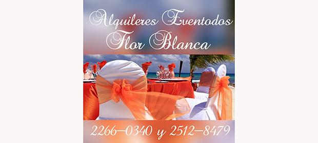 Alquileres Eventodos Flor Blanca - Imagen 3 - Visitanos!