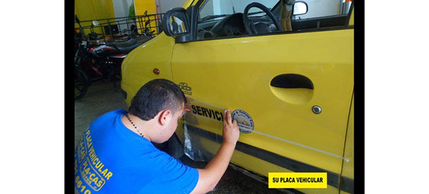Su Placa Vehicular