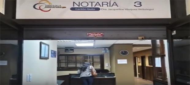 Notaría Tercera Del Cantón Quito - Dra. Jacqueline Vásquez