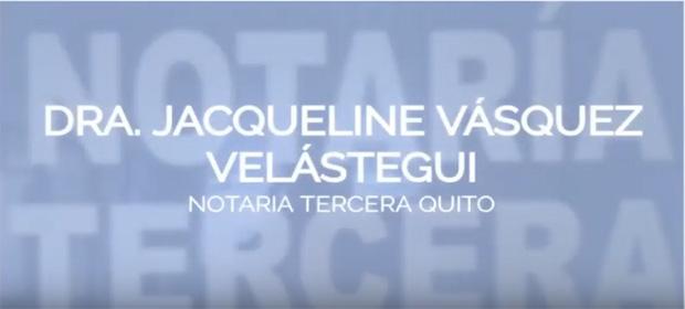 Notaría Tercera Del Cantón Quito - Dra. Jacqueline Vásquez - Imagen 5 - Visitanos!