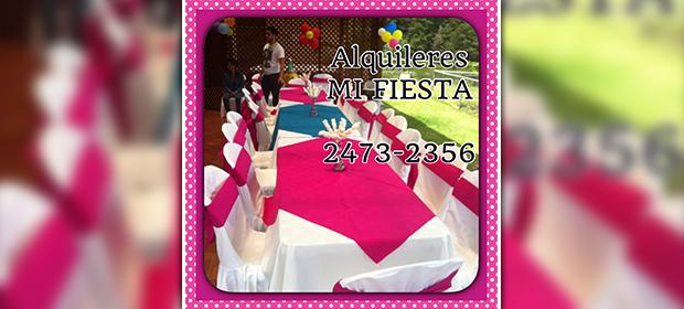 Alquifiestas Mi Fiesta - Imagen 1 - Visitanos!