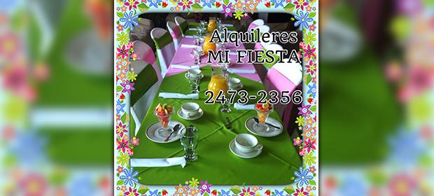 Alquifiestas Mi Fiesta - Imagen 2 - Visitanos!