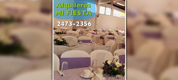 Alquifiestas Mi Fiesta - Imagen 3 - Visitanos!