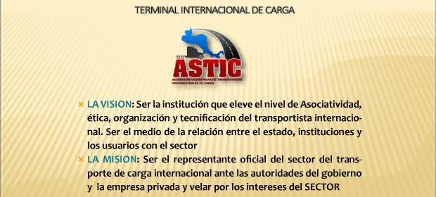 Asociación Salvadoreña De Transportistas  Internacionales De Carga (Astic) - Imagen 3 - Visitanos!