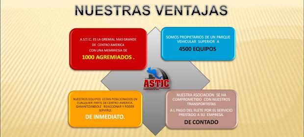 Asociación Salvadoreña De Transportistas  Internacionales De Carga (Astic) - Imagen 5 - Visitanos!