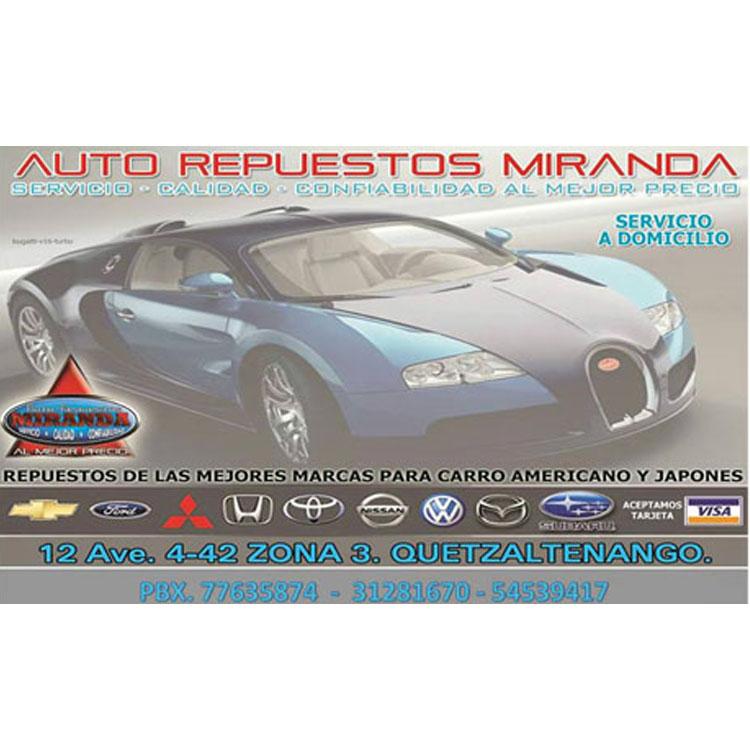 Auto Repuestos Miranda - Imagen 1 - Visitanos!