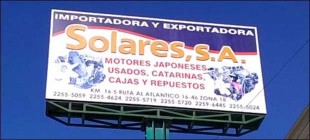 Importadora Solares - Imagen 5 - Visitanos!