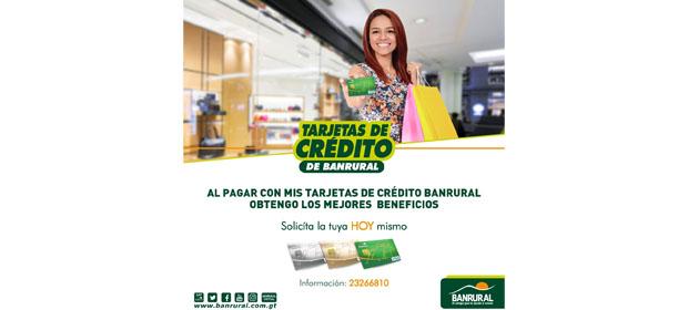 Tarjetas De Crédito Banrural
