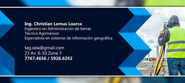 Tag / Ing. Christian Lemus Loarca