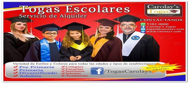 Alquiler De Togas Guatemala