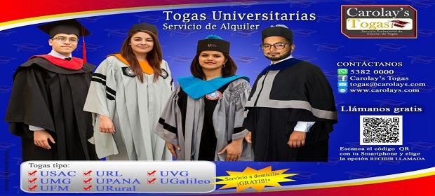 Alquiler De Togas Guatemala - Imagen 3 - Visitanos!
