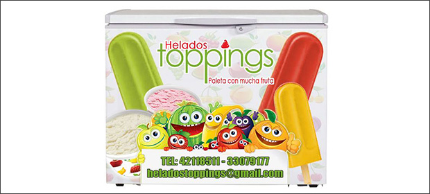 Helados Toppings