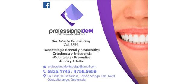 Professional Dent / Dra. Johselin Vanessa Chay