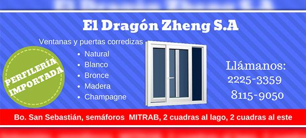 Aluminio Y Vidrio El Dragón Zheng S.A