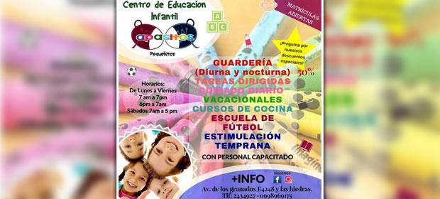 Centro De Desarrollo Infantil A Pasitos Pequeñitos - Imagen 2 - Visitanos!