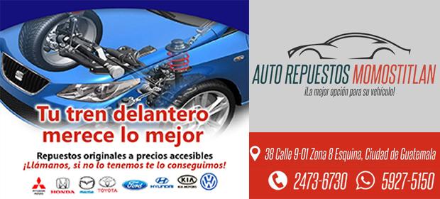 Auto Repuestos Momostitlan - Imagen 2 - Visitanos!