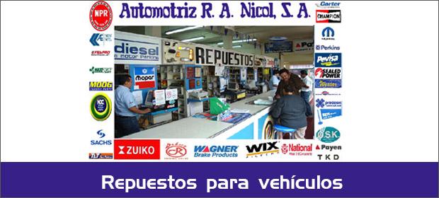 Automotriz R.A. Nicol - Imagen 3 - Visitanos!