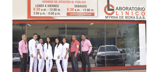 Laboratorio Clínico Myrna De Mora S.A.S.
